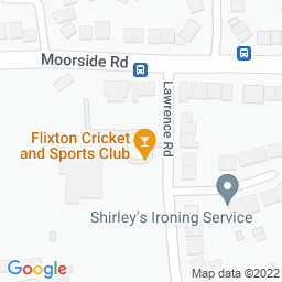 Map of Flixton C&SC, Lawrence Rd