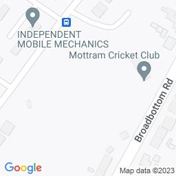 Map of Mottram Cricket Club