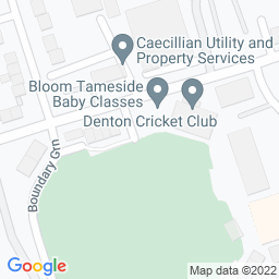 Map of Denton Cricket and Sports Ground