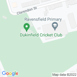 Map of Dukinfield CC - Clarendon St