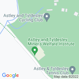 Map of Astley & Tyldesley CC, Toone Group Gin Pit Oval