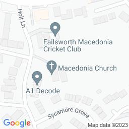 Map of Failsworth Macedonia CC