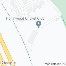 Map of Hollinwood Cricket Club