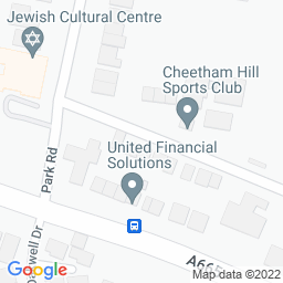 Map of Cheetham Hill CC