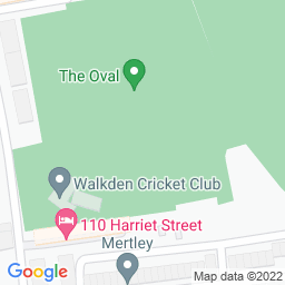 Map of Walkden CC, The Oval