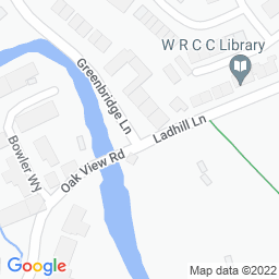 Map of Greenfield CC - Ladhill Lane
