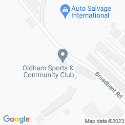 Map of Oldham CC