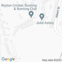 Map of Royton CC, The Paddock
