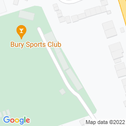 Map of Bury Sports Club, Radcliffe Rd
