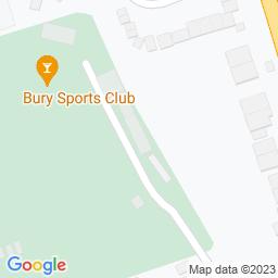 Map of Bury Sports Club, Radcliffe Rd