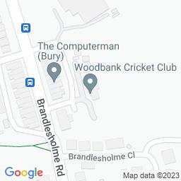 Map of Woodbank CC