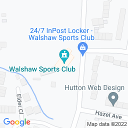 Map of Walshaw CC, The Geoff Ormerod Sports Ground