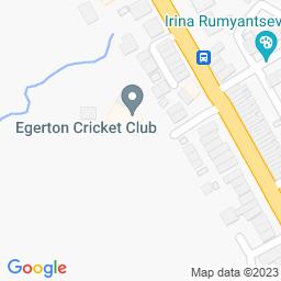 Map of Egerton CC - Blackburn Road