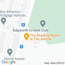 Map of Edgworth CC, The Barlow Grounds