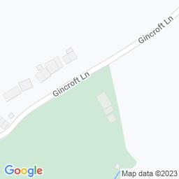 Map of Edenfield CC - Gincroft Lane
