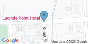 Google Map for Lucinda Point Hotel Motel