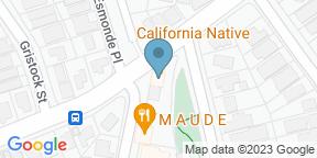 Google Map for California Native