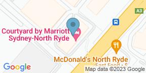 Google Map for Bistro Sydney