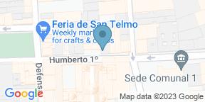 Google Map for Sagardi Buenos Aires