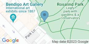 Google Map for Bendigo Gallery Cafe