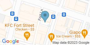 Google Map for Mad Samurai