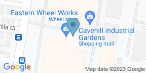 Google Map for Hop Hen Brewing