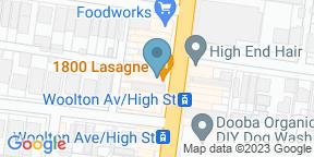 Google Map for 1800Lasagne