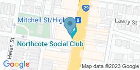 Google Map for Northcote Social Club