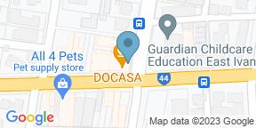 Google Map for DOCASA Ivanhoe