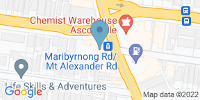 Google Map for Ascot Vale Hotel