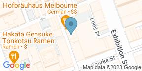 Google Map for Hofbrauhaus