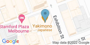 Google Map for Nick & Nora's Melbourne