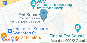 Google Map for Time Out Fed Square