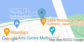 Google Map for Teatro - Southbank