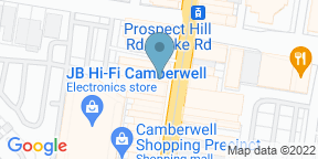 Google Map for Italy 1 Camberwell