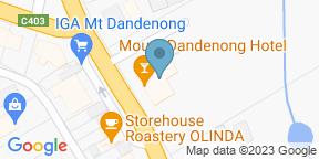 Google Map for Mount Dandenong Hotel