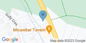 Google Map for Micawber Tavern