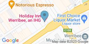 Google Map for Rosana Bistro & Bar - Holiday Inn Werribee