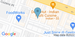 Google Map for A Spot For Joe