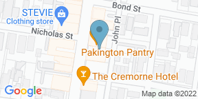Google Map for Winter's Cafe