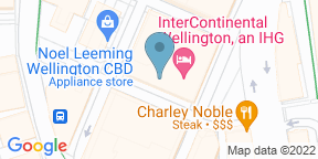 Google Map for The Lobby Lounge - InterContinental Wellington