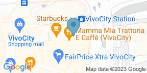 Mapa de Google para Tapas Club - Vivocity