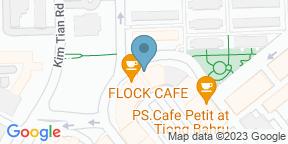 Mapa de Google para Flock Cafe