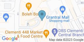 Mapa de Google para Top Seafood - Clementi