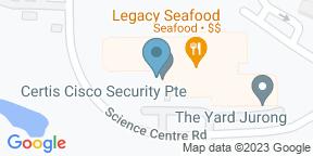 Mapa de Google para Legacy Seafood