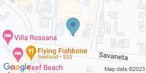 Google Map for The Old Man & The Sea Restaurant at the Aruba Ocean Villas