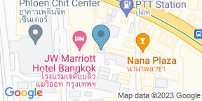 Google Map for Nami Teppanyaki Bar - JW Marriott Hotel Bangkok