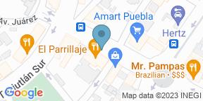 Mapa de Google para El Parrillaje Juarez