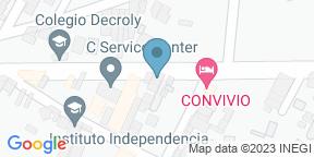 Mapa de Google para Leña y Olivo