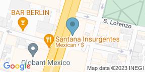 Mapa de Google para El Buen Bife Parrilla Argentina - Av. Insurgentes